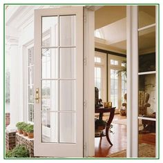 Awesome Interior Hinged Patio Doors