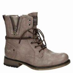 Mustang shoes taupe enkellaarsje 1129-503-318