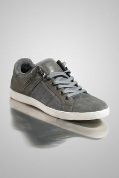 Guess products like this JAYVEE SNEAKERS. Stylish kicks are a summer must. The neutral grey shade