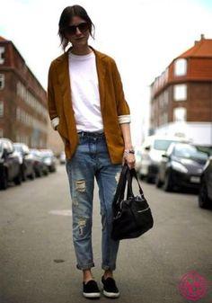 Вот так правильно носить кеды с джинсами!