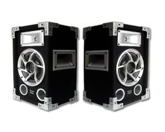 """Acoustic Audio GX-400 1200 Watt Pair 2-Way 6.5"""" Pro DJ PA Speakers by Acoustic. $68.88. Uniquely versatile, you can use these two-way speakers in a variety of applications. They are great for PA systems, studio monitor applications, professional karaoke machines, as home audio bookshelf speakers or as an addition to your surround sound home theater. Each speaker can handle 600 watts of power (300W RMS) and features a 6.5"""" high rigidity PVA-treated cone woofer, a 2..."""