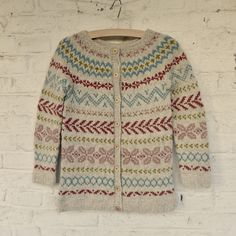 Ravelry: Kunibert's Colourwork Cardigan