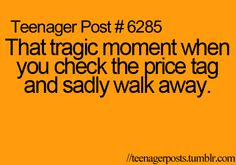 Yup. And when I walk away I just run into a wall because it was $10 over...