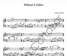 Without A Father Sheet Music - Ernesto Cortazar
