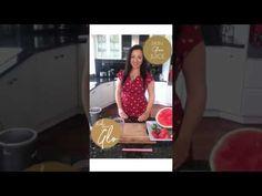 WATERMELON SKIN GLOW SMOOTHIE! - FIND YOUR GLO - http://www.bestrecipetube.com/watermelon-skin-glow-smoothie-find-your-glo/