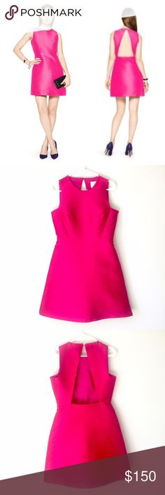 NWT Kate Spade peek-a-boo Sheath Dress This is a brand new Kate Spade Dress in Sweetheart pink. Perfect for the upcoming holiday season. It has a cut out back and hidden zipper on the side for easy wearability. Size: 8. Brand new with tags. Comes from a smoke free home. Cover pic courtesy Kate Spade website. Reasonable offers will be accepted. kate spade Dresses Mini