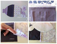 Little fishes: storage bag por panties. Tuto ando free pattern. Pescaditos guarda- medias I: Tutorial + Patrón