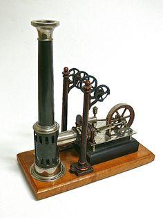 Ernst Plank Nuernberg Steam Engine hot air engine $1500.00