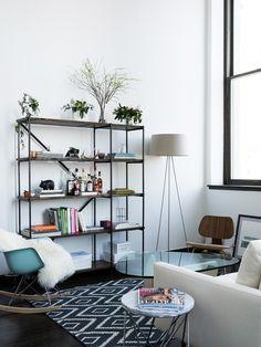 Alice Gao's NYC living room / Alice Gao