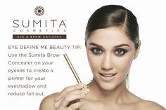 Brow Concealer beauty tip.