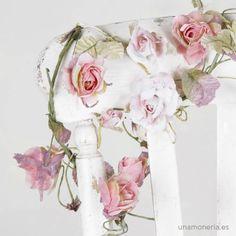 Guirnalda de flores Rosa