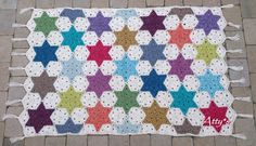 Atty's : Finished Star Blanket
