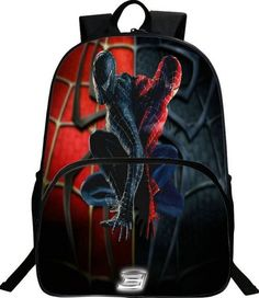 32cb86f6c6 Hot Spiderman Backpack Kids School Bags For Boys Daily Backpacks Children  Backpack Hero Spiderman Bookbag Schoolbags Best Gift