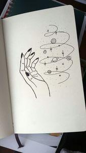 Magic universe leticia board в 2019 г. art drawings, art sketches и pencil Space Drawings, Cool Art Drawings, Pencil Art Drawings, Doodle Drawings, Art Drawings Sketches, Sketch Art, Doodle Art, Easy Drawings, Disney Drawings