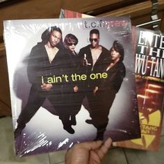 Starting off the new year with more #vinyl #tcfcrew #iainttheone... I got the #wutang one last year... It's a repressing but necessary. Lol! Bought it at Walmart too  I'm going to stop buying vinyl until I find out what's going on with my housing situation... Plus I still haven't picked a set of turntables that I want...