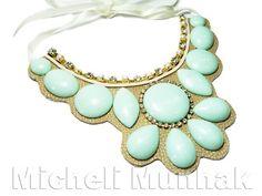 Maxi Colar Mint  http://www.michelimunhak.com.br