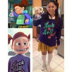 Darla from finding Nemo #costume