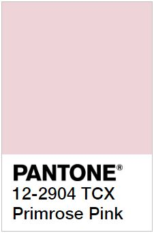 PANTONE 12-2904 Primrose Pink – Розовая Примула