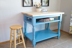 Ana White | Build a Classic #Kitchen Island - Featuring Build Something | Free and Easy #DIY Project and Furniture Plans