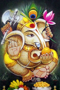Lord Ganesha is one of the most popular Hindu deity. Here are top Lord Ganesha images, photos, HD wallpapers for your desktop and mobile devices. Ganesha Drawing, Lord Ganesha Paintings, Ganesha Art, Ganesh Rangoli, Shiva Art, Krishna Art, Hindu Art, Shiva Shakti, Ganesha Pictures