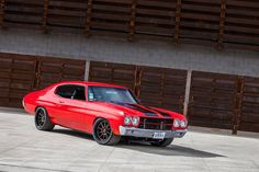 Alan's awesome 430HP LS3-powered '70 Chevelle was built by Speedtech Performance…
