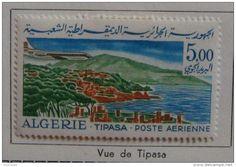 Algérie 1967/68 Poste Aérienne - Caravelle - Série complère YT PA 15/17 Neuf* charnière