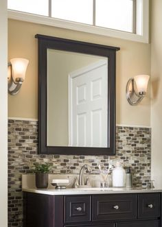Efficiently optimize lighting in your bathroom with these four simple tips.