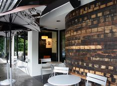 SBUX : 23rd & Burnside - Portland, OR on Behance Shipping Pallets, Portland, Behance, Wood, Furniture, Home Decor, Decoration Home, Woodwind Instrument, Room Decor
