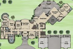 Best House Plans With In Law Suite Ranch Bonus Rooms Ideas Luxury House Plans, Best House Plans, Dream House Plans, House Floor Plans, Luxury Houses, Ranch House Plans, European House, Bonus Rooms, Good House