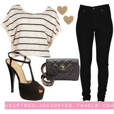 """Hearts"" by adoremycurves on Polyvore"