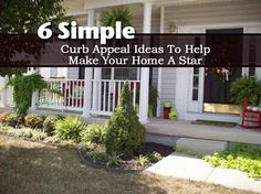 6 Simple Curb Appeal