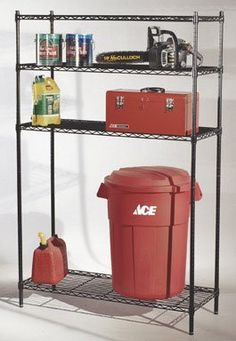 Shelf Steel Wire Shelving Kit Size 74  by Sensible Storage. $73.15 & Vertical Sheet Rack | Plasma Creations | Pinterest | Bar stock ...
