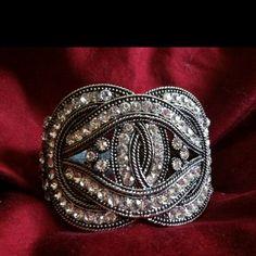 My favorite #bracelet, always a conversation starter #antique #jewelry