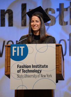 Rebecca Minkoff -Fashion Institute of Technology Commencement 2013