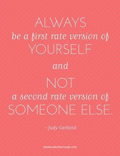 Judy Garland speaks the truth