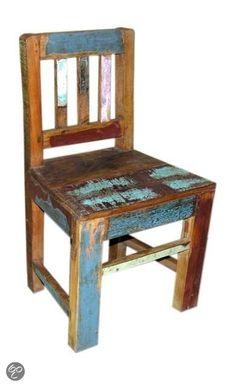 Kinderstoel sloophout ( otentic)