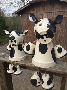 Crafts To Sell, Diy And Crafts, Arts And Crafts, Clay Pot Crafts, Diy Clay, Diy Christmas Gifts, Holiday Crafts, Christmas Cookies, Flower Pot People