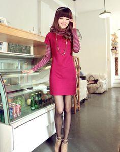 FENGZHILING® 可愛い ニット お買得品 レディース 無地 ワンピース 全3カラー タイトなシルエットでボディーラインをセクシーに演出するワンピース。ナチュラルなネックラインで女性らしく見せる。ウエストマークを強調でき、女性らしい雰囲気を加える。  http://www.cithy.jp/fengzhiling-cute-knitted-women-one-piece-dress-3colors-w09521069a.html