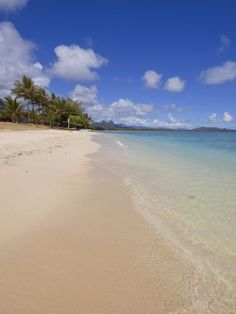 Waimanalo Beach, Oahu, Hawaii - we are blessed to have a timeshare on Oahu and this is my favorite beach. It is so peaceful. #TreatYourself #Shopkick