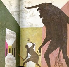 Alice and Martin Provensen: illustraion for The Giant Golden Book of Myths and Legends, 1964.