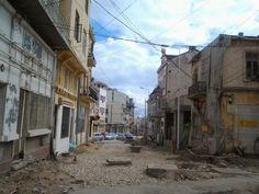 Peninsula orașului în plină ruină se reabilitează cu greu...