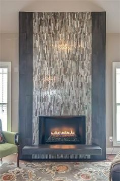 Most current Photos wooden Fireplace Remodel Concepts Latest Totally Free Fireplace Remodel for tv Popular Tiled Fireplace Wall, Fireplace Feature Wall, Wooden Fireplace, Brick Fireplace Makeover, Fireplace Remodel, Fireplace Mantle, Fireplace Surrounds, Simple Fireplace, Fireplace Ideas