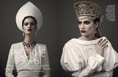Vogue Russia - Marta by Mariano