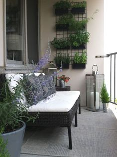To accomplish beauty tiny balcony, you dependence to find right furniture for it, especially for small terrace, space-saving and dedicate dimension is more important. Narrow Balcony, Small Balcony Design, Small Balcony Garden, Small Terrace, Outdoor Balcony, Balcony Railing, Terrace Design, Small Patio, Outdoor Decor