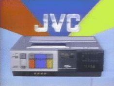 Vhs 1980s jvc