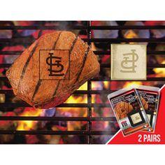 St. Louis Cardinals Fan Brands Grill Logo(2 Pack)