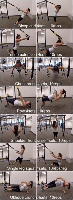 TRX Full Body Workout For Women amzn.to/2s1pFNY