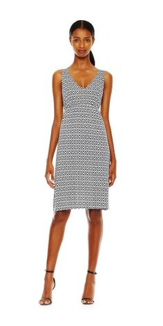 V-Neck Dress - Joe Fresh