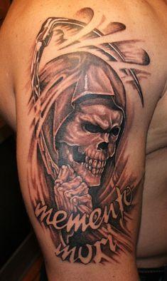 Photo tattoo Андрей Бондарь Grim Reaper Tattoo, English Tattoo, Tattoo Photos, Tattoo Artists, Tattoos, Tatuajes, Tattoo, Tattos, Tattoo Designs