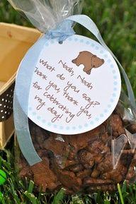 Brown Bear Birthday Party Treats